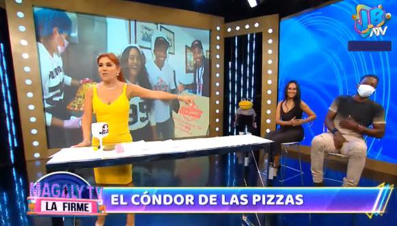 """Magaly Medina conversó con el """"Cóndor"""" Mendoza."""