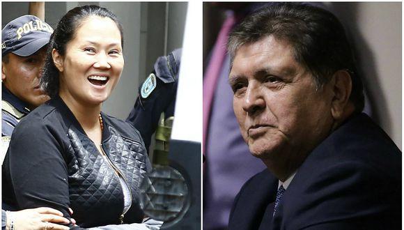 Congreso rechaza incluir a Alan García y a Keiko Fujimori en informe Lava Jato