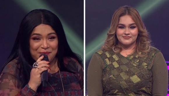 """""""Adele"""" y """"La India"""" mostraron todo su talento este lunes en """"Yo Soy"""".(Foto: Captura Latina)."""