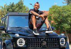 Arturo Vidal posa junto a lujosa camioneta y recibe críticas de chilenos (FOTOS)