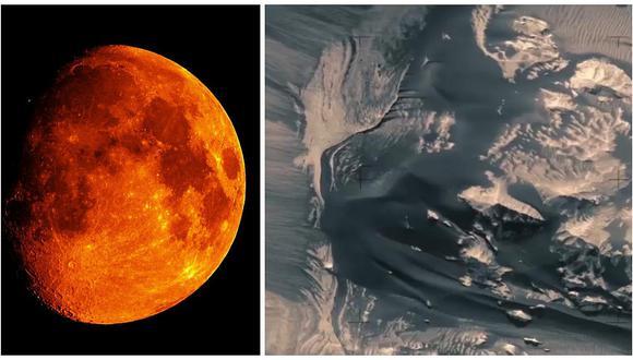 Marte: imágenes del planeta rojo siguen sorprendiendo al mundo (VIDEO)