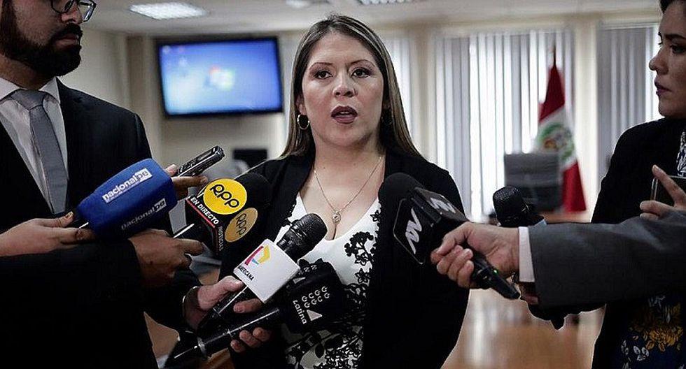 """Yeni Vilcatoma compara medidas del Inpe contra Keiko Fujimori y sicario """"Goro"""" (VIDEO)"""