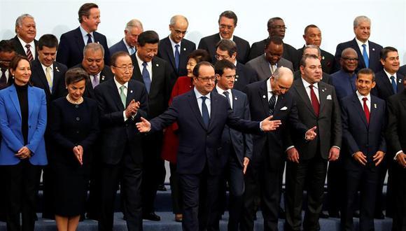 COP21: Cumbre del clima arrancó en París con dramático llamamiento a preservar el planeta