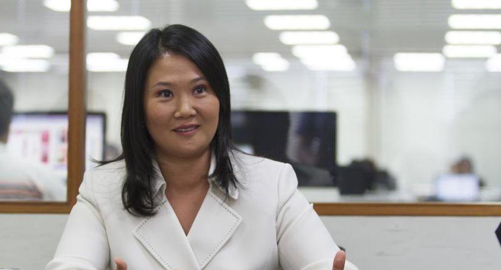 Keiko Fujimori criticó al Presidente por candidatura de Ana María Solórzano