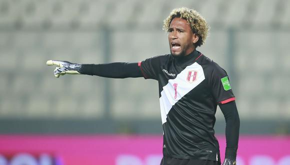 Pedro Gallese recibió 4 goles de Brasil en el Nacional de Lima. (Foto: AFP)