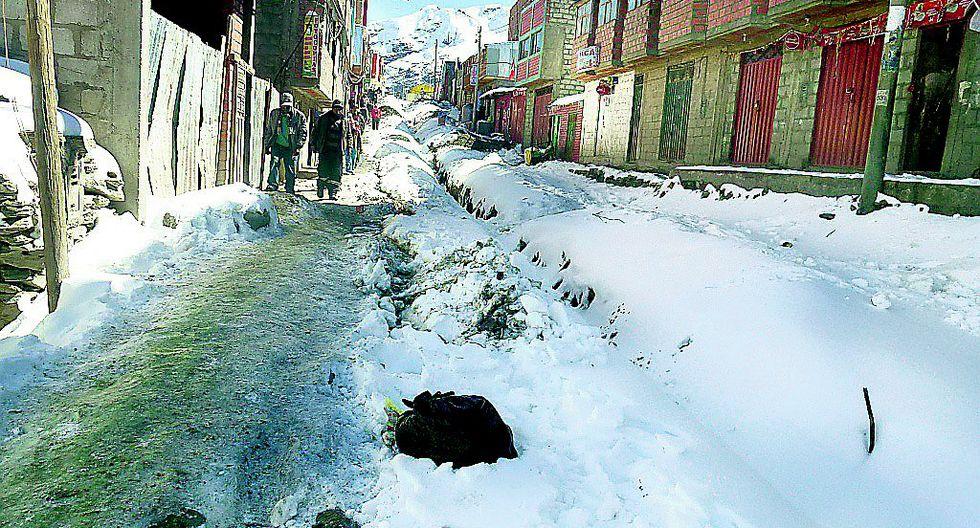 Gobierno advierte que temperaturas han bajado más de lo previsto