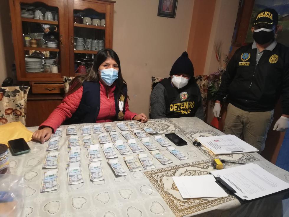 Se encontraron maletas con más de medio millón de soles (Fotos: PNP)