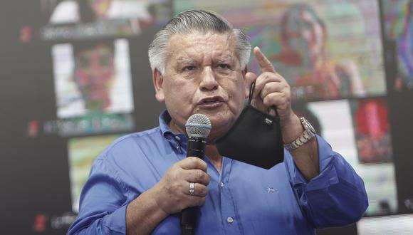 El candidato presidencial de APP se refirió a las exclusiones de George Forsyth y Rafael López Aliaga por el JEE de Lima Centro 1. (Foto: Grupo El Comercio)