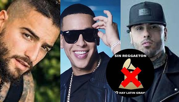 Maluma, Dady Yanky, Nicky Jam y más reguetoneros protestan contra los Latin Grammy