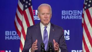 """Biden confía en la victoria y dice que """"es hora"""" de que EE.UU se una como nación"""