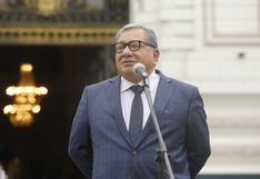 Carlos Anderson pide la salida de los ministros Carlos Gallardo y Luis Barranzuela