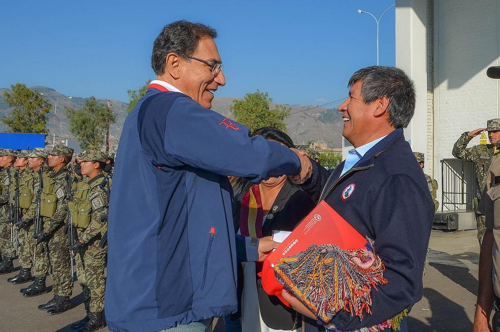 Presidente Martín Vizcarra recibe demandas a favor de Ayacucho