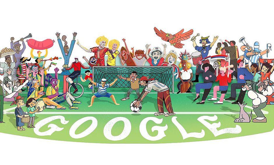 Google celebra el inicio de Rusia 2018 con un doodle especial