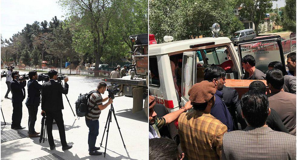 9 periodistas fallecen en doble atentado en Afganistán (FOTOS)