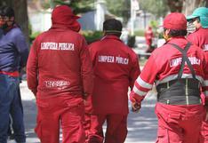 40 obreros de limpieza pública han fallecido en Arequipa a causa de la COVID-19