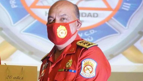 El jefe de la Cuarta Comandancia Departamental de Lima Centro del Cuerpo de Bomberos fue internado a inicios de febrero en la Villa Panamericana, pero fue trasladado a una cama UCI debido a que su estado se complicó.