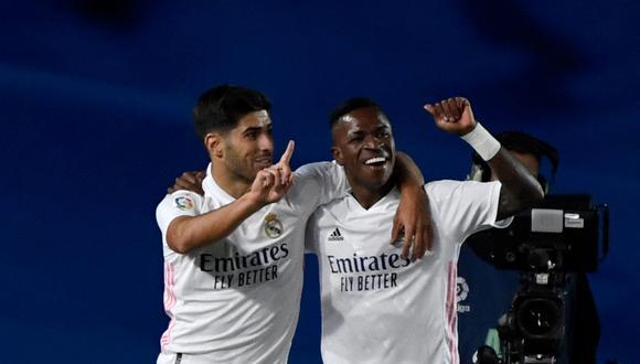 El grupo de Real Madrid en la Champions League. (Foto: AFP)