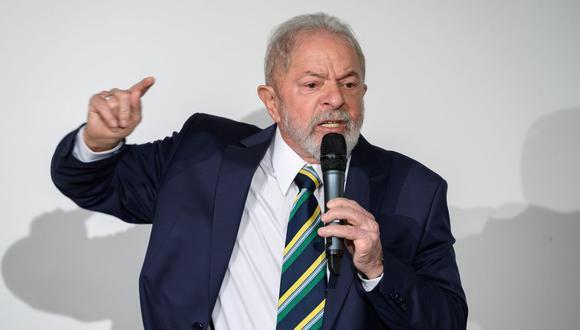 Imagen del expresidente de Brasil, Lula da Silva. (AFP / Fabrice COFFRINI).