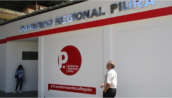 Contraloría observa el pago de S/ 150,000 a 30 trabajadores del Gobierno Regional de Piura