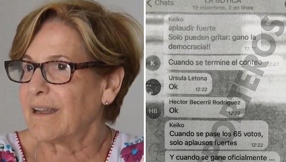 """Susana Villarán califica al chat La Botica de """"fachismo puro"""" (VIDEO)"""