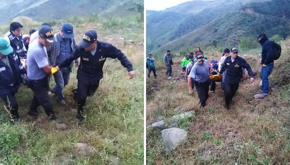 Tres heridos deja accidente en la carretera Canchaque-Huancabamba