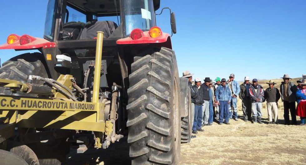 Cusco: Gobierno regional adquirirá 150 tractores