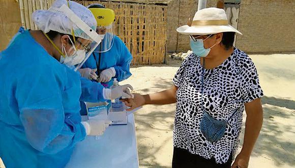 Las pruebas rápidas contribuyen a identificar pacientes infectados por la covid-19 y reducir los focos de contagio.