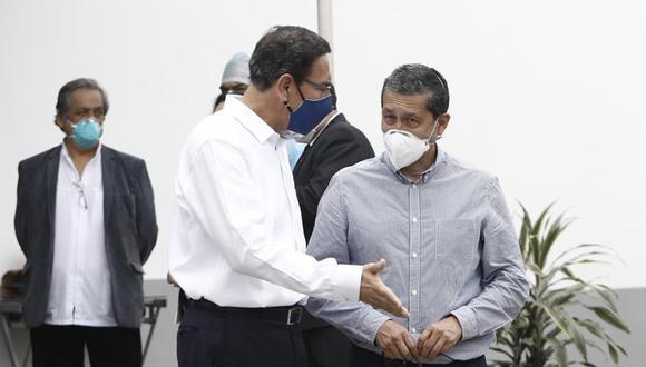 Germán Málaga se presentó este martes ante el Congreso para declarar sobre la vacunación del expresidente Martín Vizcarra en octubre del 2020. (Foto: Francisco Neyra / GEC)