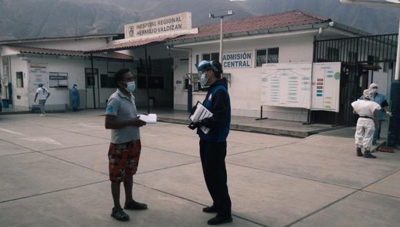 Un ciudadano denunció que el hospital carecía de bolsas colectoras, insumo necesario para la donación de sangre. (Foto: Defensoría)