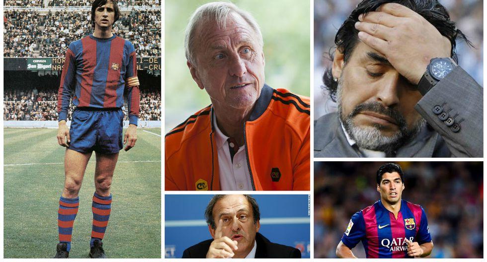 """Maradona se despide a Cruyff: """"Nunca te olvidaremos, Flaco..."""""""