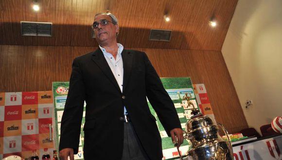 "Manuel Burga: La FIFA ve a la FPF como ""de primer mundo"""