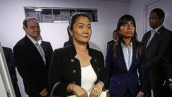 Keiko Fujimori denuncia persecución ante la comunidad internacional