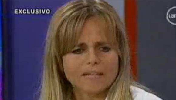 """Andrea Voto-Bernales sobre Luis Miguel Llanos: """"Me salvó de una muerte segura"""""""