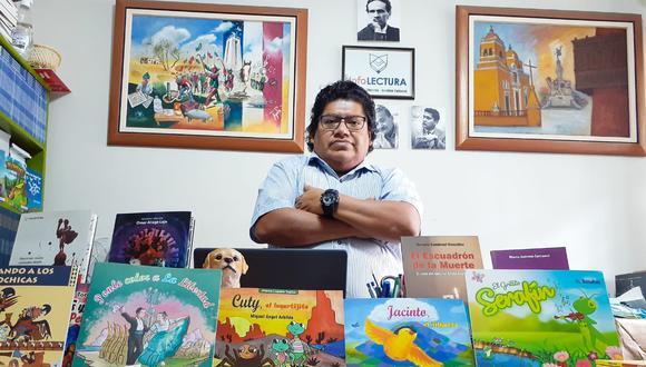 Reconocida editorial trujillana celebra 11 años y presenta libros de reconocidos escritores liberteños.