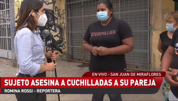 Un familiar contó cómo el sujeto perpetró el asesinato de Guadalupe Vásquez Corzo. (Foto: Captura ATV+)