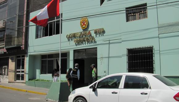 Denuncia por violencia física fue presentada en la comisaría Central
