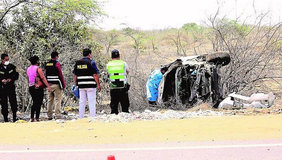 Exalcalde de Morropón muere en accidente