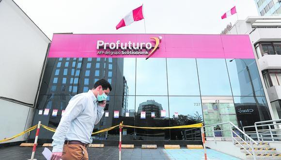 Lima 19 de Julio del 2021.Centro Financiero de San Isidro.Bancos , AFPs y tiendas comerciales.