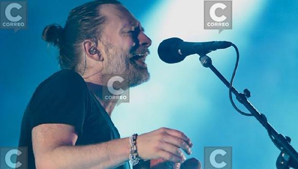 Radiohead hizo vibrar el Estadio Nacional a ritmo de 'Creep' (VIDEO)