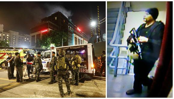Filipinas: Al menos 37 muertos y más de 50 heridos en el asalto a hotel de Manila (VIDEO)