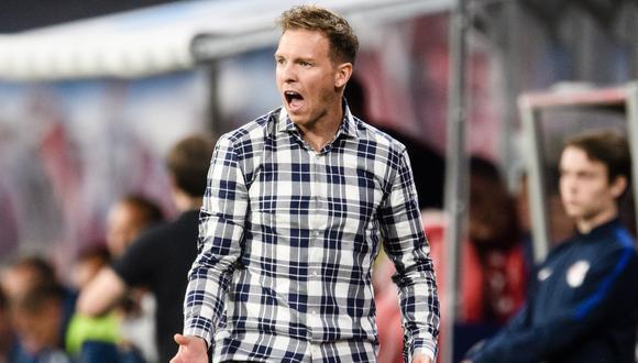 Julian Nagelsmann será entrenador de Bayern Múnich desde la próxima temporada, anunció el club alemán. (Foto: EFE)