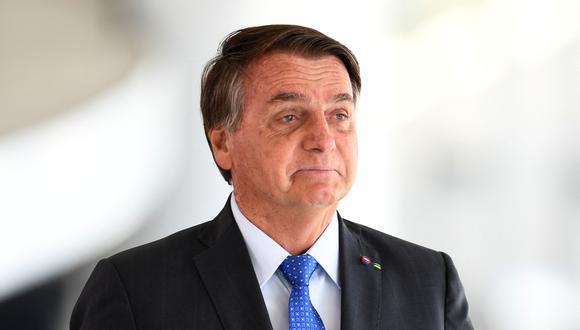 Presidente de Brasil, Jair Bolsonaro. (EVARISTO SA / AFP).
