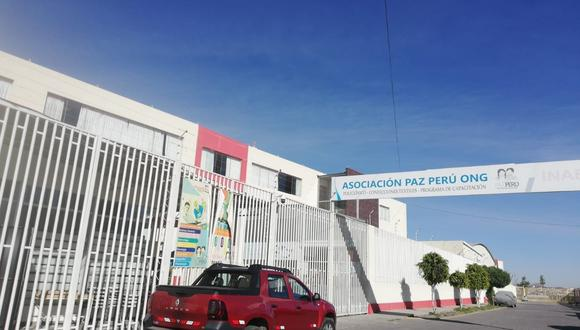 Fachada del Centro de Acogida Residencial donde ocurrieron los hechos. (Foto archivo referencial)