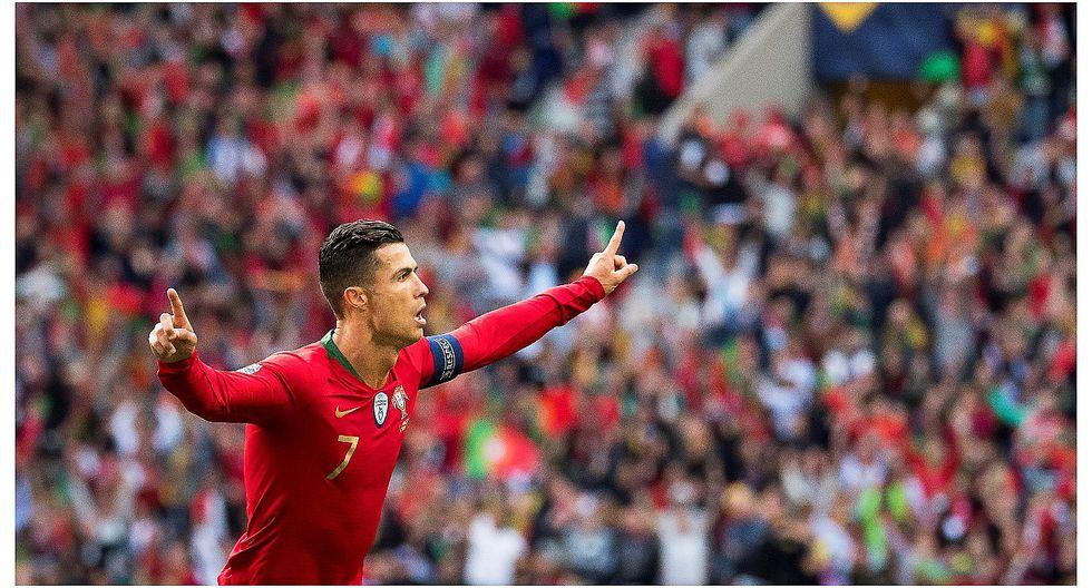 Con triplete de Cristiano Ronaldo: Portugal clasificó a la final de la Liga de Naciones (VIDEO)