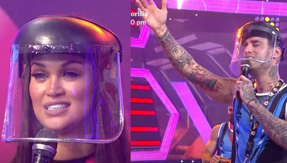 Angie Arizaga y Jota Benz tuvieron un segundo episodio de su duelo en 'Te la dedico'. (Esto es Guerra /América)