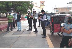 Tumbes: Intervienen a varios mototaxistas con licencias falsas