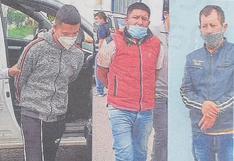 Capturan a ´Marcas´ en Chiclayo sindicados de hurtar S/12 mil soles a comerciante huanuqueño