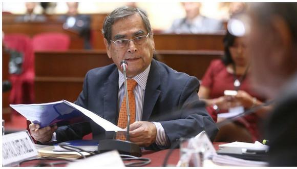 Óscar Ugarte juraría como ministro de Salud a partir de las 10:30 horas.