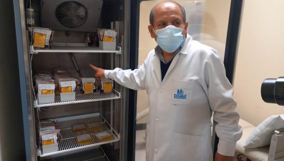 Donaciones de sangre se reducen en hospital de Ica por temor al COVID-19.