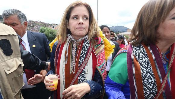 Estas fueron las declaraciones de Mercedes Aráoz sobre Kuntur Wasi en Cusco (VIDEO)